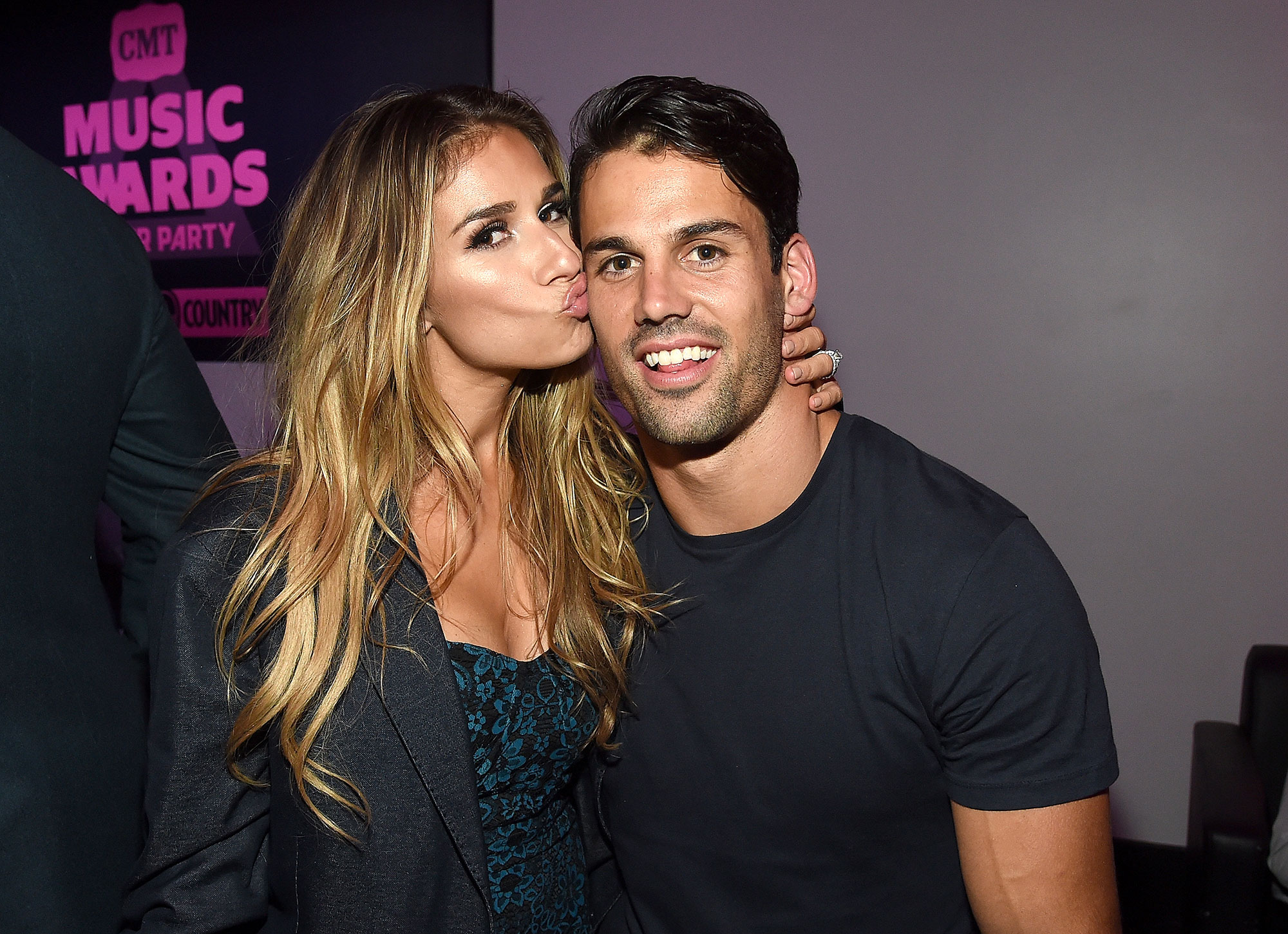 "Eric-Decker-Celebs-Who-Love-Football - Though the former NFL wide receiver announced that he was retiring from the sport in August 2018, there's no love lost for him when it comes to the game. "" He loves football so much ,"" his wife told Us Weekly exclusively in January."