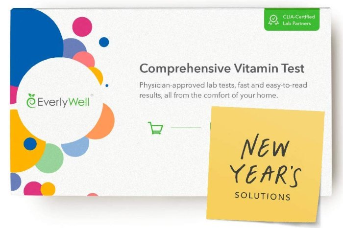 EverlyWell Comprehensive Vitamin Test