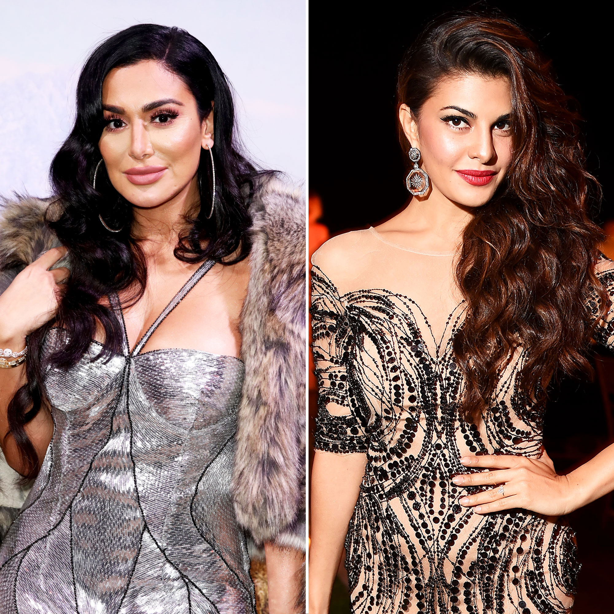Everything We Know About Huda Beauty's Collab with Bollywood Actress Jacqueline Fernandez - Huda Kattan and Jacqueline Fernandez