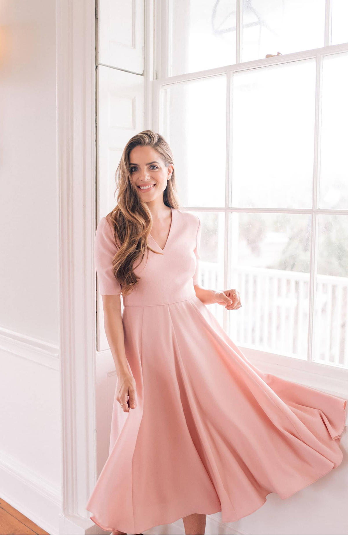 ab3a8b920fbe This Timeless Fit-and-Flare Dress Will Glam up Any Occasion