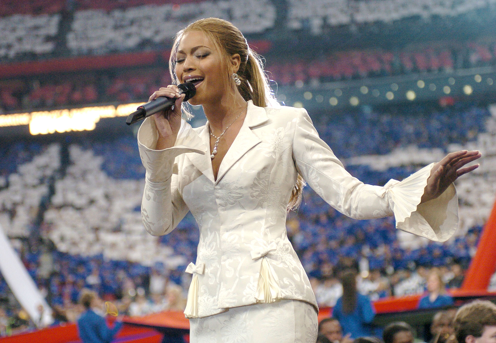 afaa94c9f Best Super Bowl National Anthem Performances: Beyonce, Gaga, More
