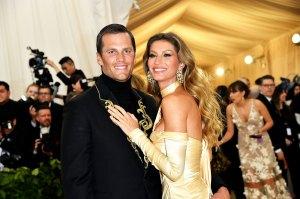 Gisele Bundchen Congratulates Tom Brady as Patriots Head to Super Bowl: 'Love You Baby'