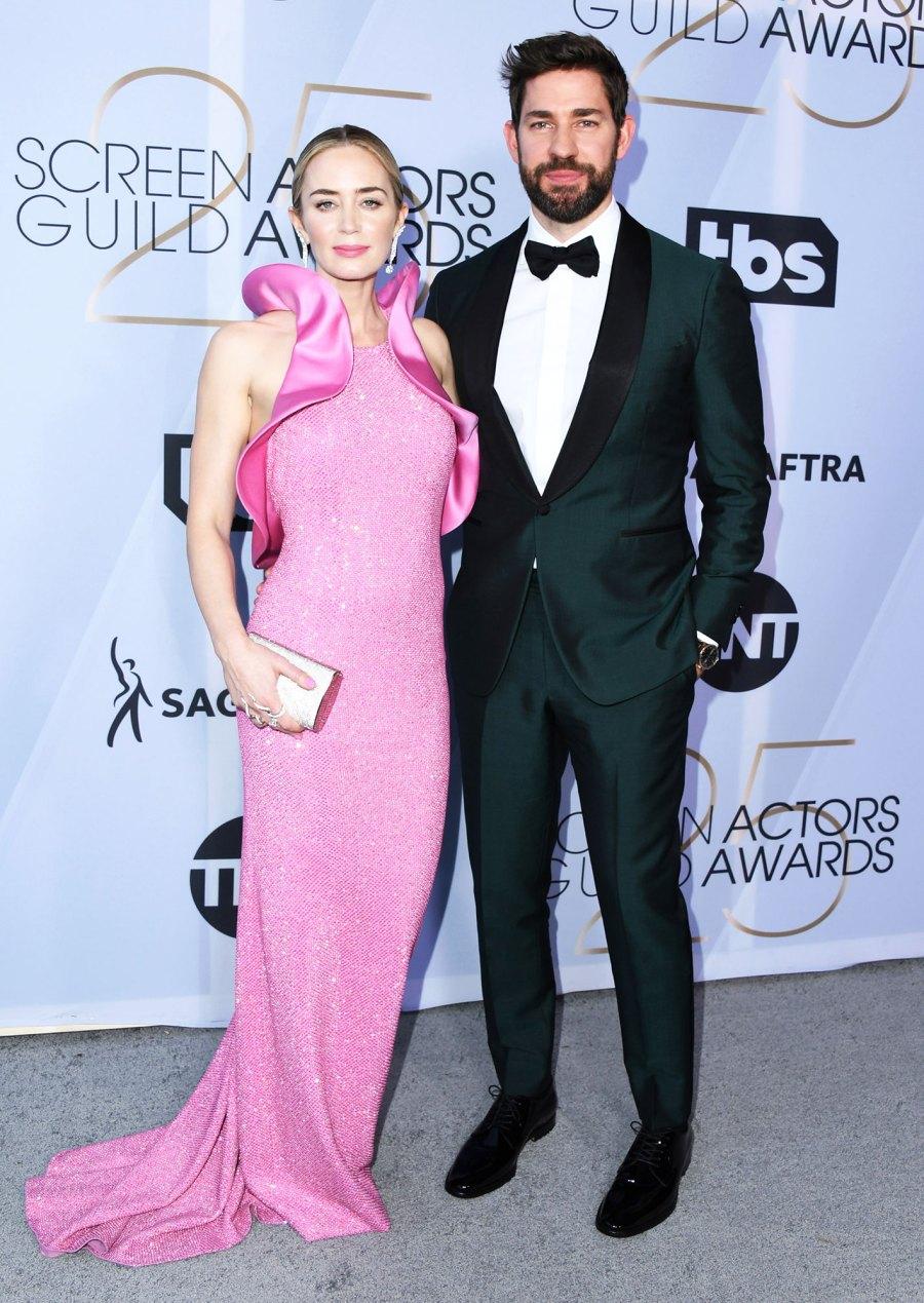 SAG Awards 2019 Emily Blunt and John Krasinski