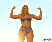 Model Iskra Lawrence on Wearing a Bikini: 'Just Push Yourself'