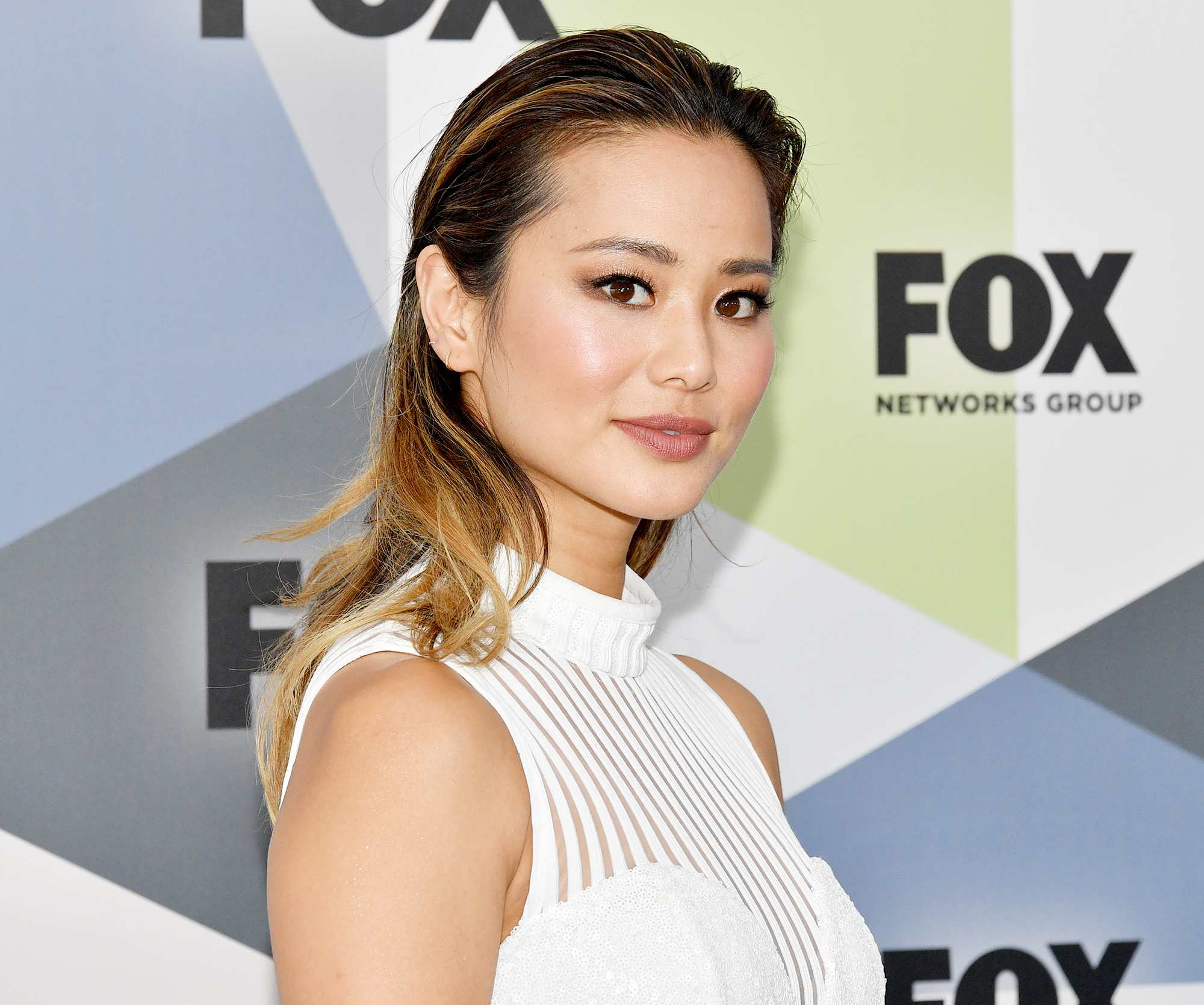 "Jamie-Chung-smoothie-recipe - Jamie Chung is a big fan of a breakfast smoothie. Her concoction is quite simple: ""Vita Coco, banana and vanilla protein and spinach — that's it!"" she told Us in July 2018."