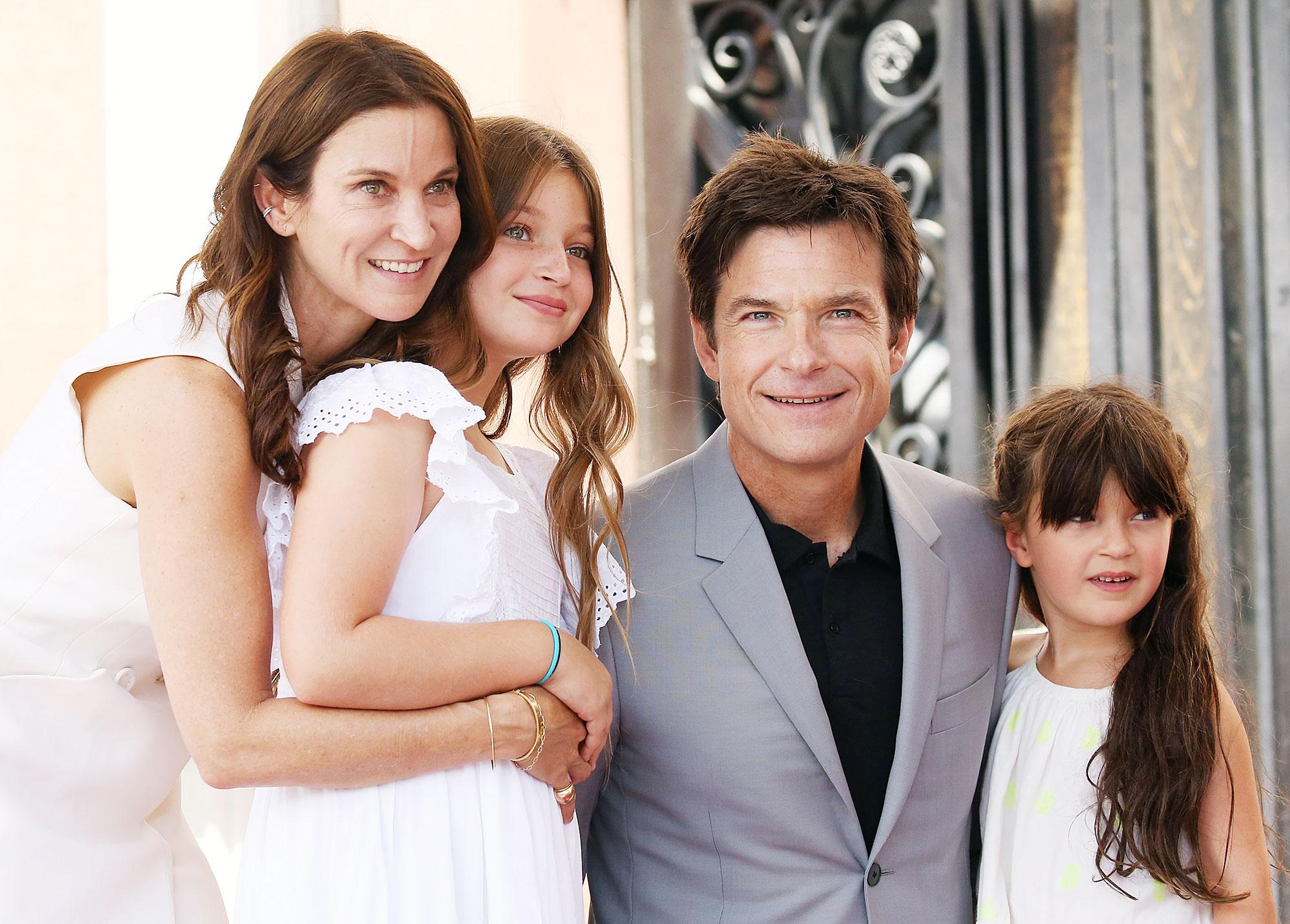 Jason Bateman Amanda Anka Full Time Dad Francesca Maple