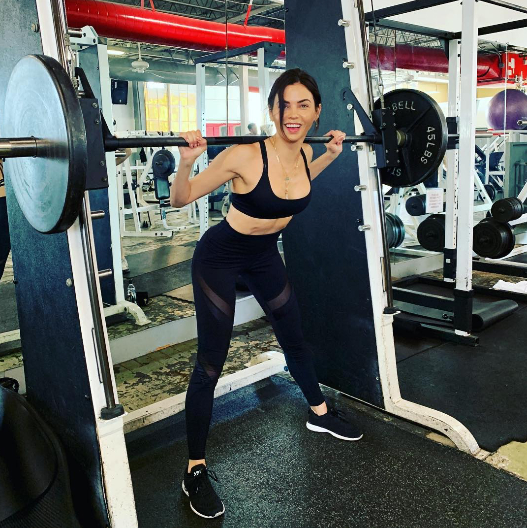 Jenna hot milf in workout clothes