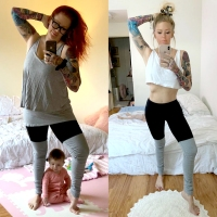 Jenna-Jameson-weight-loss-selfie