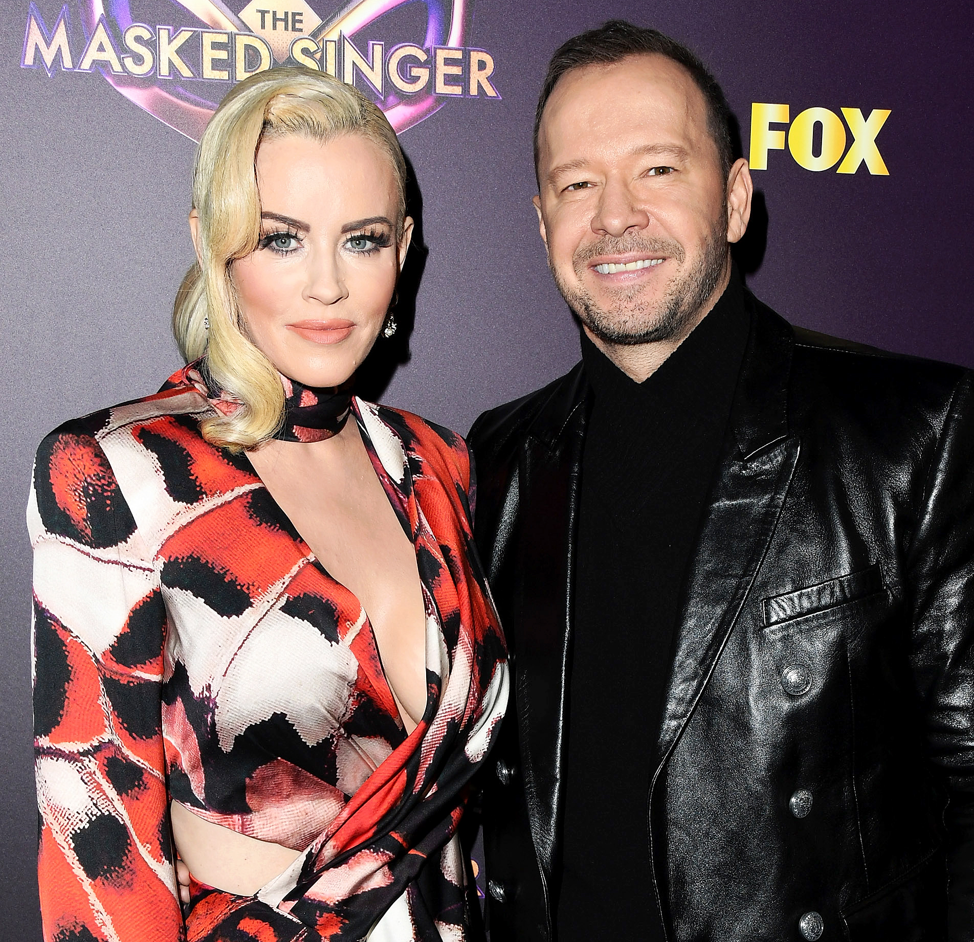 "Jenny-McCarthy-and-Husband-Donnie-Wahlberg-Adopt-Two-Pomeranians - Jenny McCarthy and Donnie Wahlberg attend Fox's ""The Masked Singer"" Premiere Karaoke Event at The Peppermint Club on December 13, 2018 in Los Angeles, California."