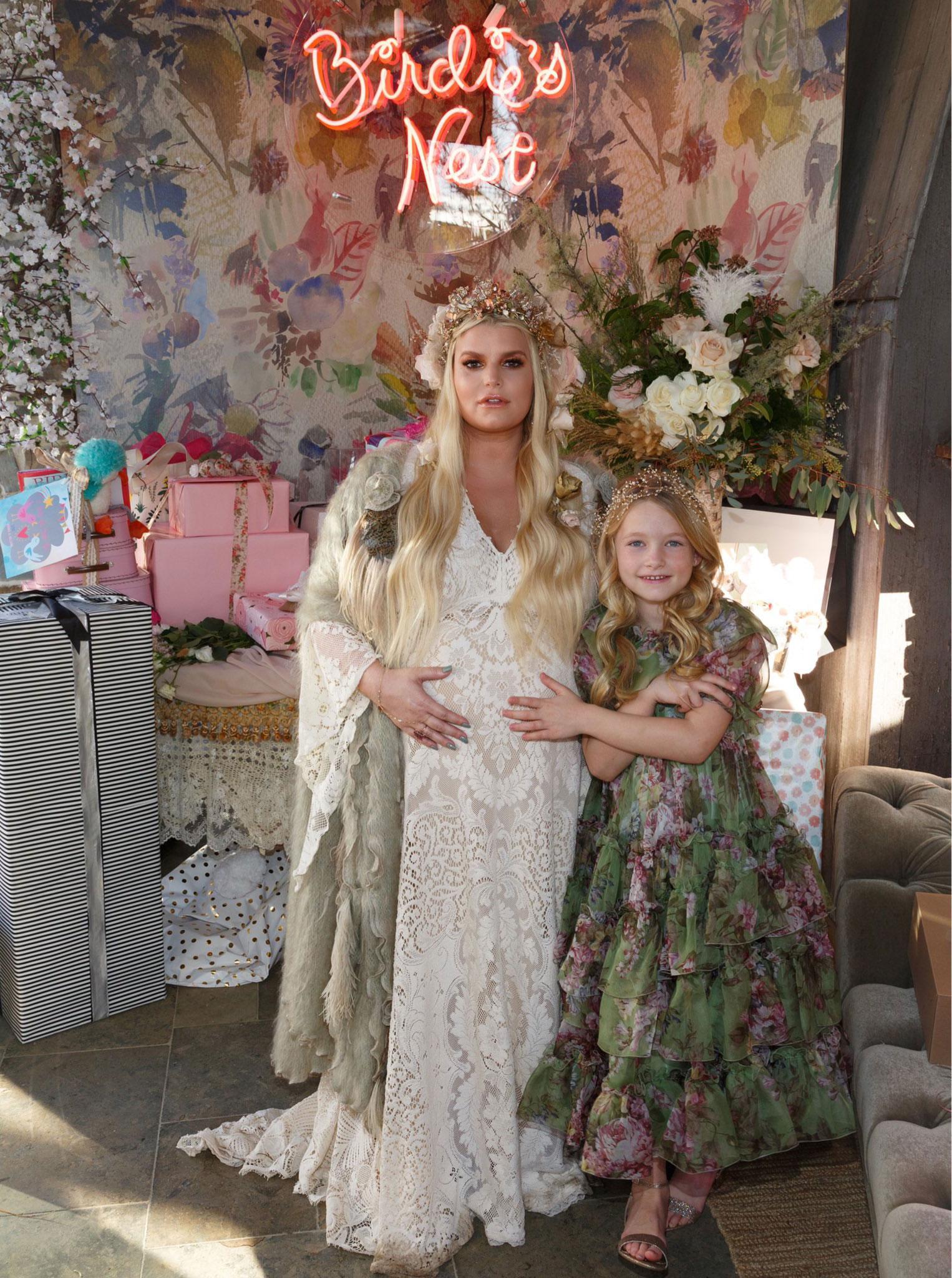 Jessica Simpson Third Pregnancy Style Best Maternity Fashion