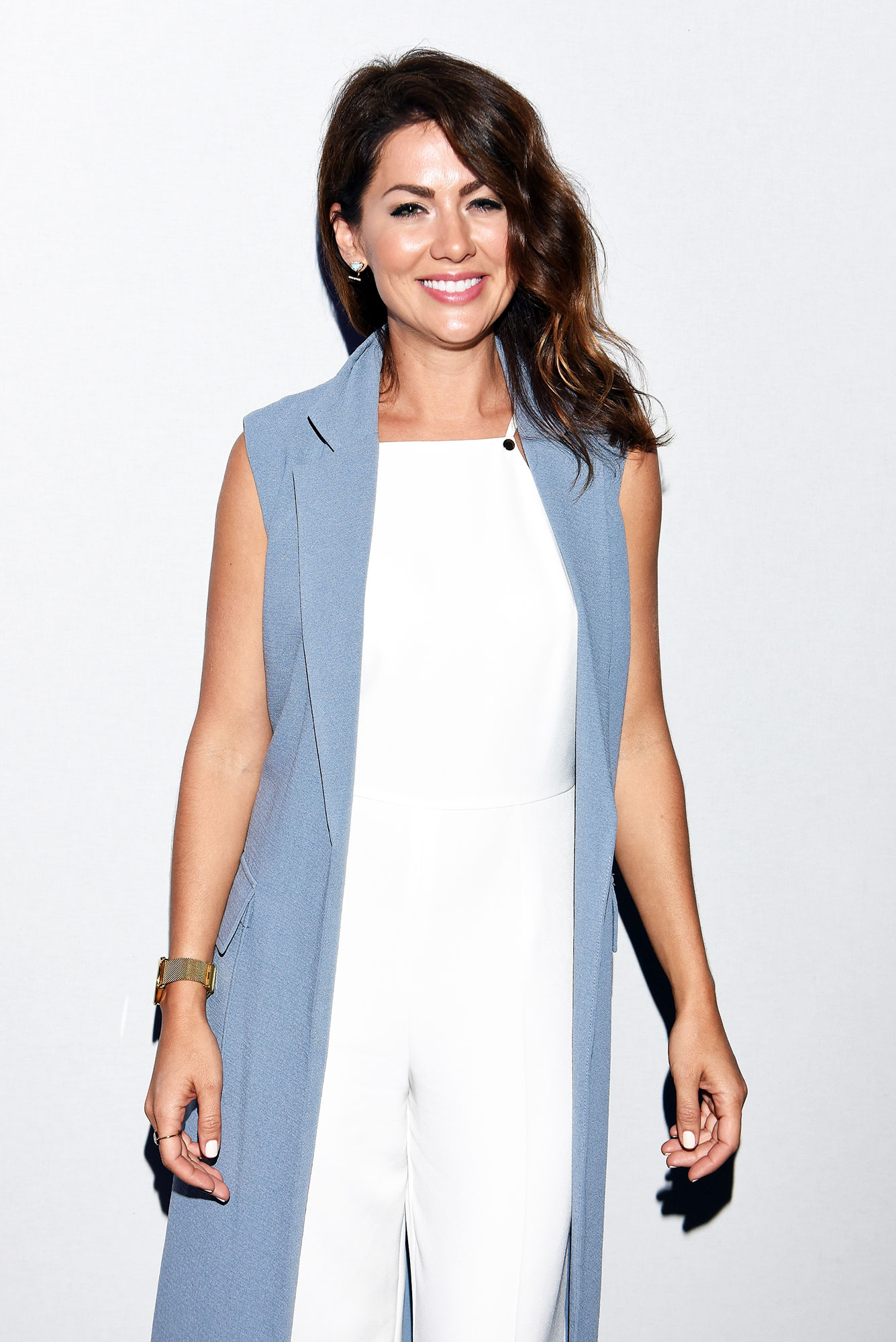 Bachelorette Jillian Harris Is Here with the Coziest Loungewear - TV personality Jillian Harris attends Son Jung Wan Spring 2016 during New York Fashion Week: The Shows at The Dock, Skylight at Moynihan Station on September 12, 2015 in New York City.