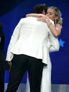 John Krasinski Emily Blunt Win Critics Choice 2018 A Quiet Place