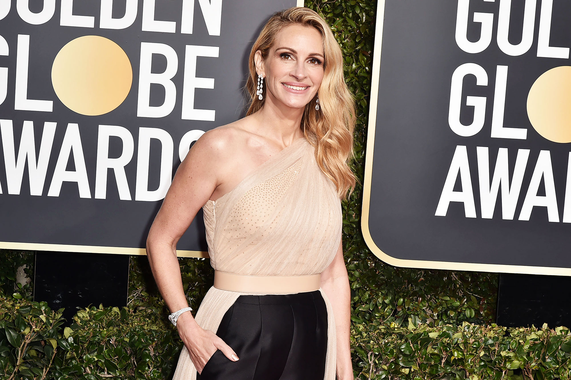 Julia Roberts Complexion Golden Globes - Julia Roberts attends the 76th Annual Golden Globe Awards at The Beverly Hilton Hotel on January 06, 2019 in Beverly Hills, California.