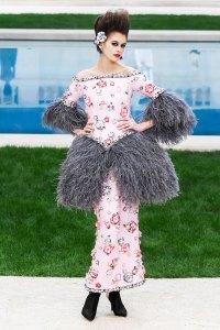 Kaia Gerber Latest Runway Hit Is Marie Antoinette