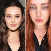 Katherine Langford Is a Redhead and More Celeb Hair Changes