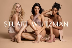Kendall Jenner and Willow Smith in Stuart Weitzman Campaign