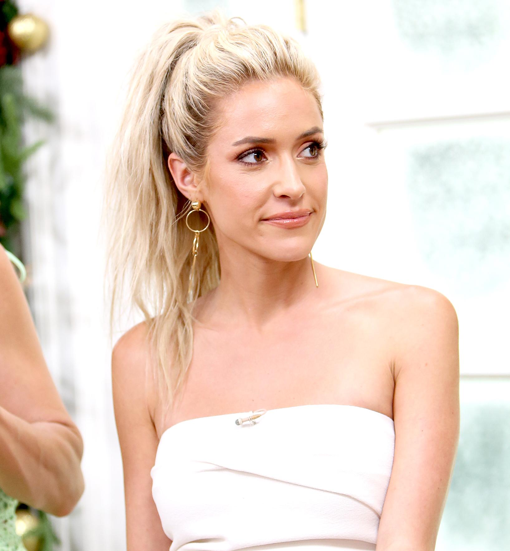 Kristin--Cavallari-Slams-Plastic-Surgery-Rumors - Kristin Cavallari visits Hallmark's 'Home & Family' celebrating 'Christmas In July' at Universal Studios Hollywood on July 20, 2018 in Universal City, California.