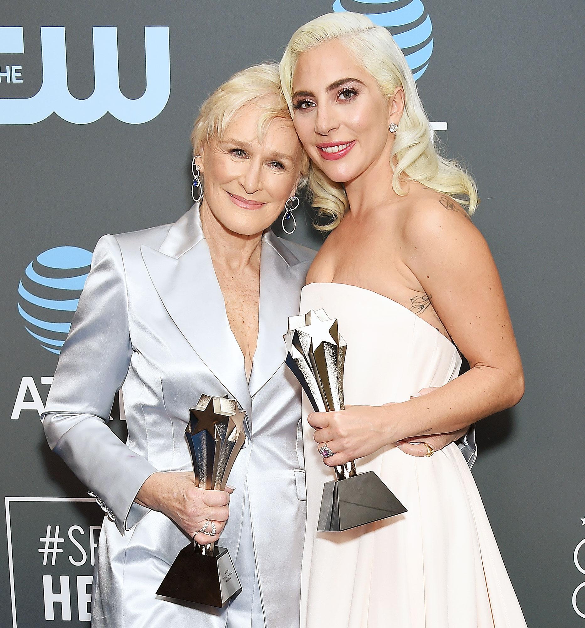Lady Gaga Glenn Close Tie Best Actress Critics Choice Awards 2019