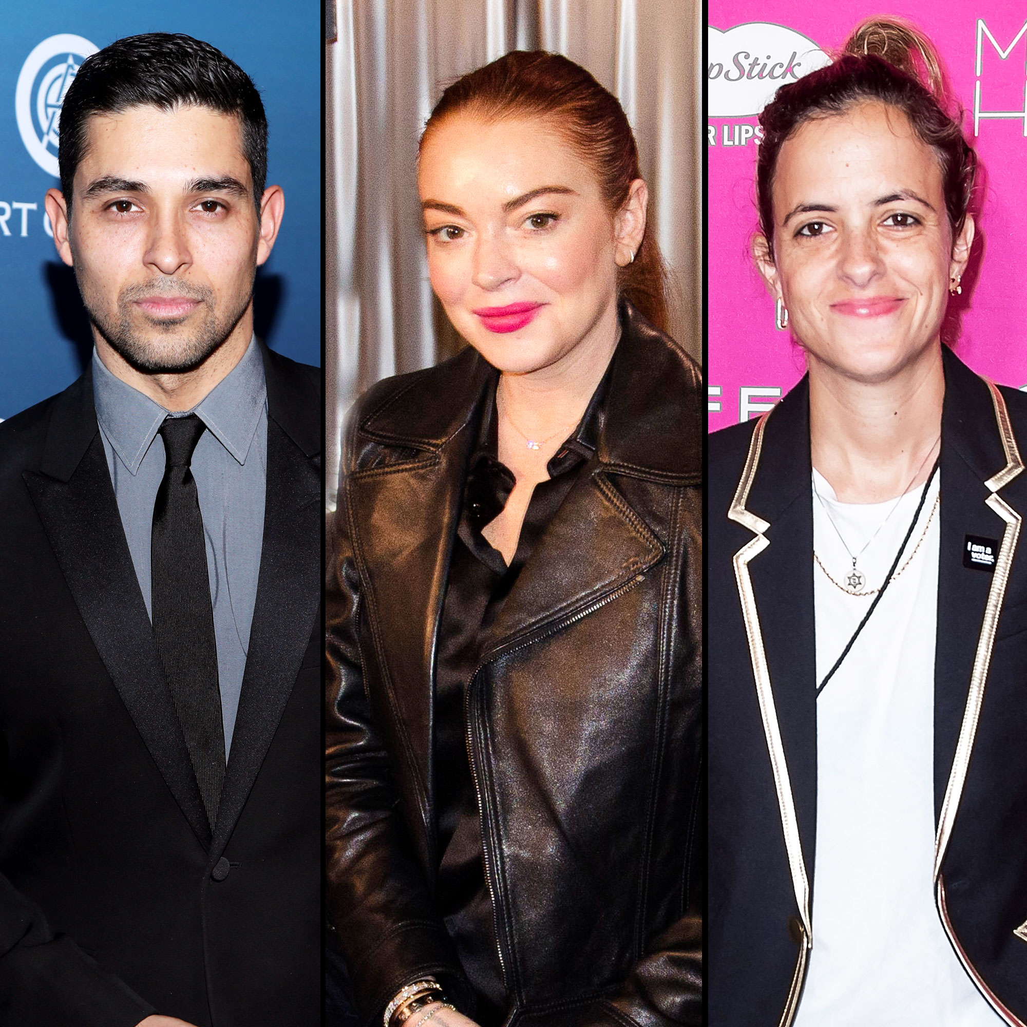 Lindsay Lohan Opens Up About Exes Wilmer Valderrama, Samantha Ronson - Wilmer Valderrama, Lindsay Lohan and Samantha Ronson