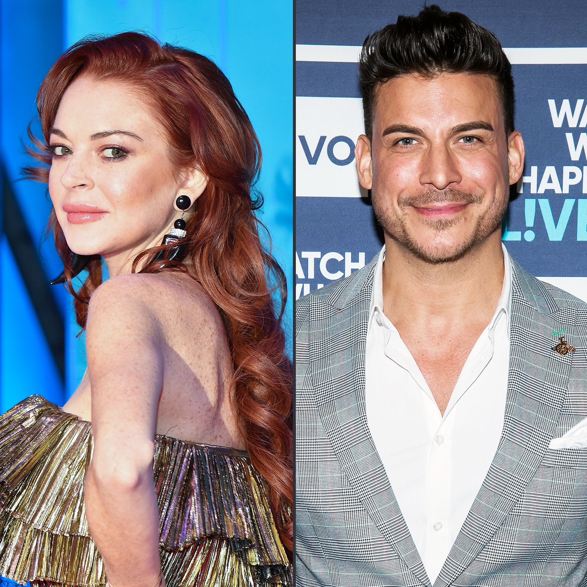 Lindsay Lohan Denies Jax Taylor Hookup Watch What Happens Live