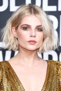 Lucy Boynton's Eyelashes Are an Ode to David Bowie