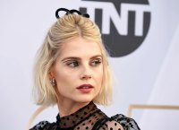 Lucy Boynton's Hairstylist Gave Us the Scoop on Her SAGS Hairstyle