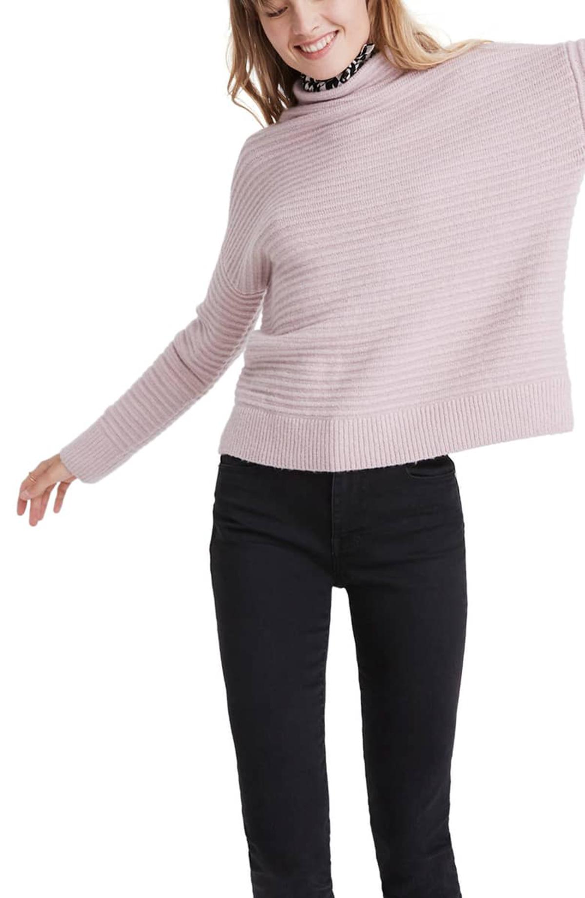 Madewell Belmont Sweater Wisteria Dove