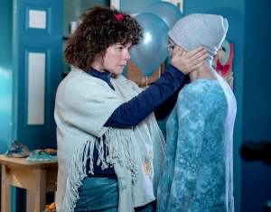 Marcia Gay Harden and Emily Skeggs star in Love You to Death