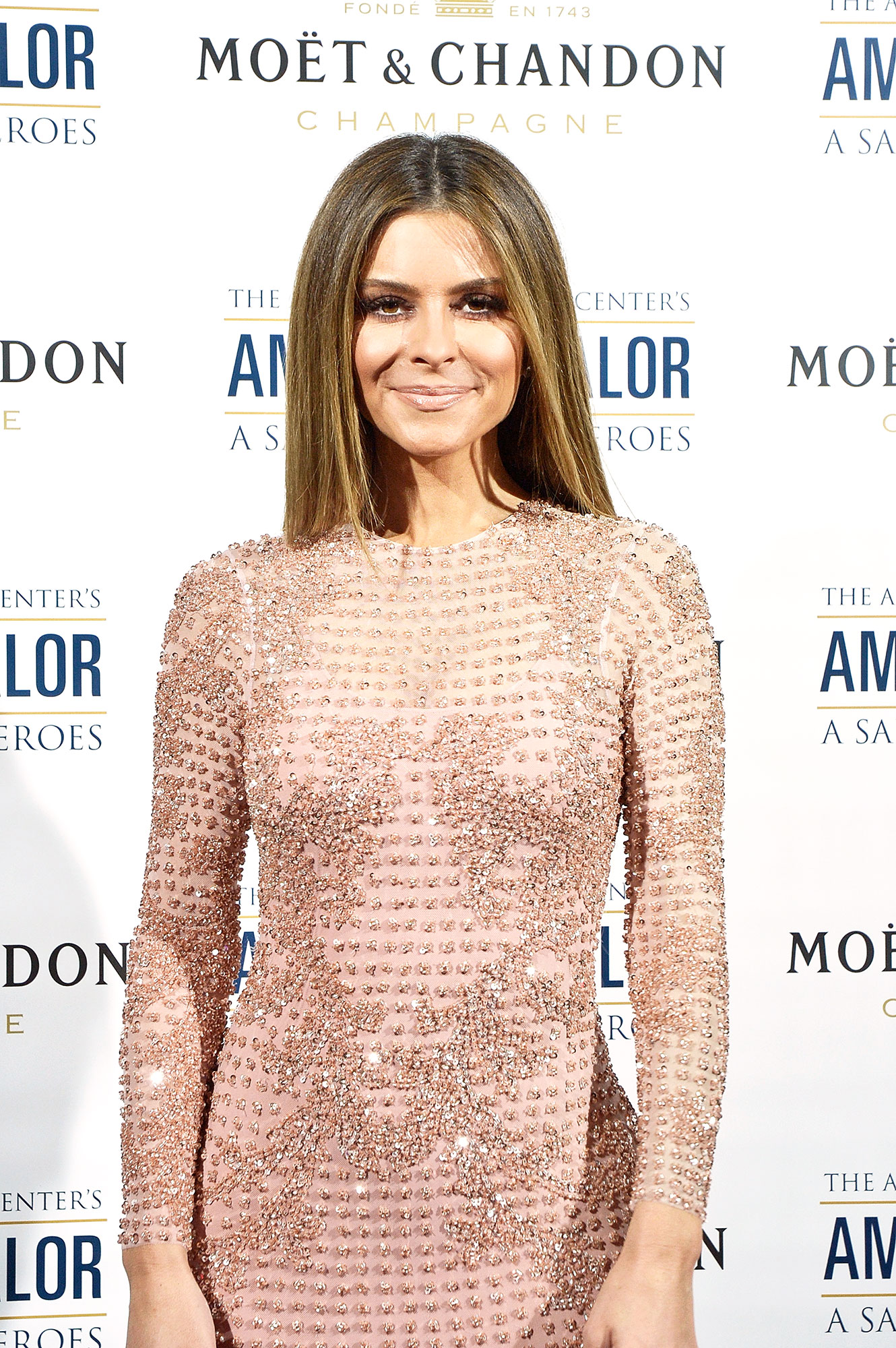 "Maria Menounos Is the Latest Star to Change Up Her Hair in 2019 - Journalist Maria Menounos attends the American Veterans Center's ""American Valor: A Salute to Our Heroes"" Veterans Day special on October 27, 2018 in Washington, DC."