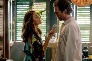 Diane Lane and Matthew McConaughey in Serenity