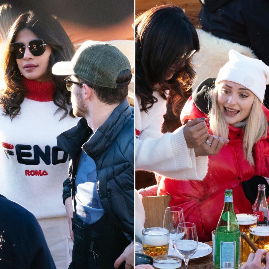 Nick Jonas, Priyanka Chopra Travel With Joe Jonas, Sophie Turner