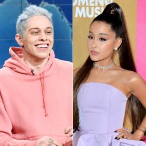 Pete Davidson Jokes About Ex Ariana Grande Praising the Size of His Manhood