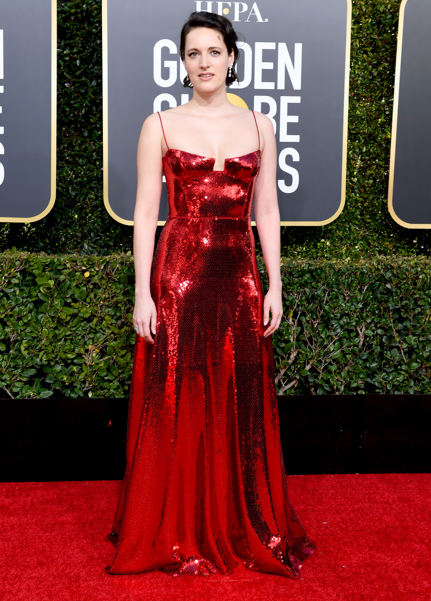 Yvette Nicole Brown Goldenglobes 2019 En 2019 Red Carpet