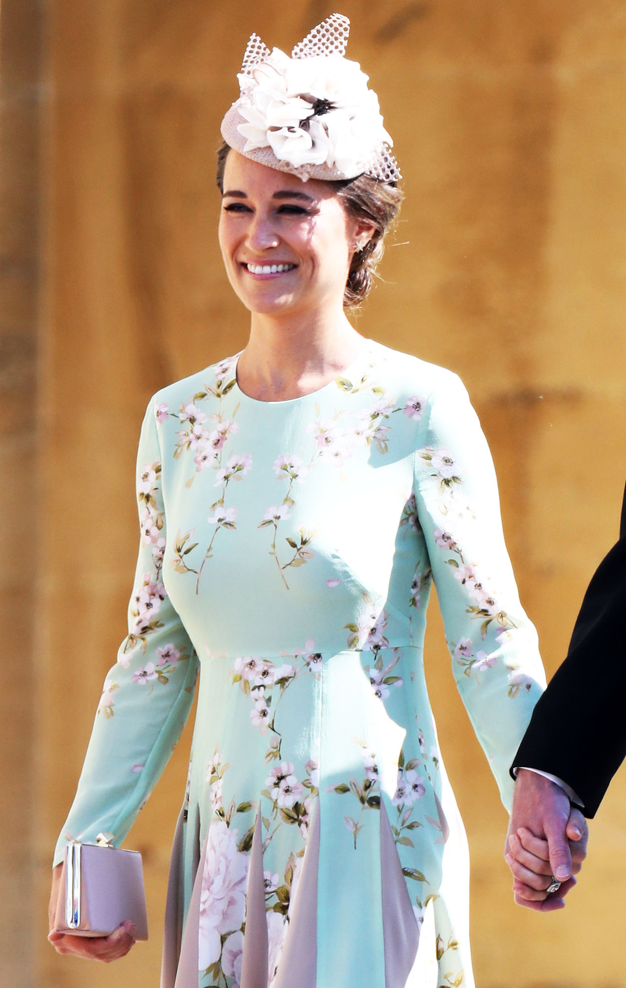 How Pippa Middleton Lost All Her Baby Weight in Less Than Three Months - Pippa Middleton arrives at the wedding of Prince Harry to Ms Meghan Markle at St George's Chapel, Windsor Castle on May 19, 2018 in Windsor, England.