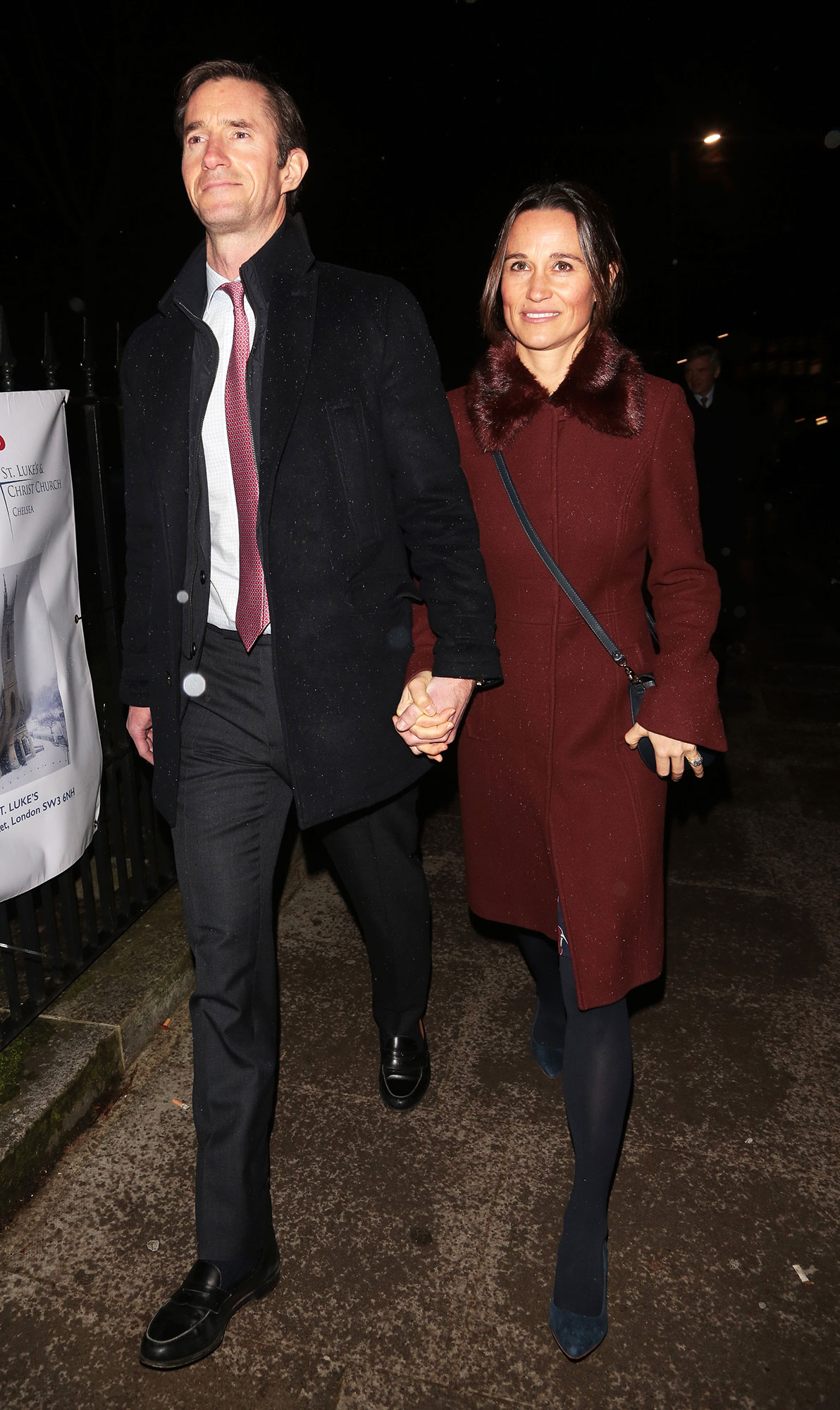 How Pippa Middleton Lost All Her Baby Weight in Less Than Three Months - Pippa Middleton and James Matthews leaving St Lukes Church after a carol service on December 04, 2018 in London, England.