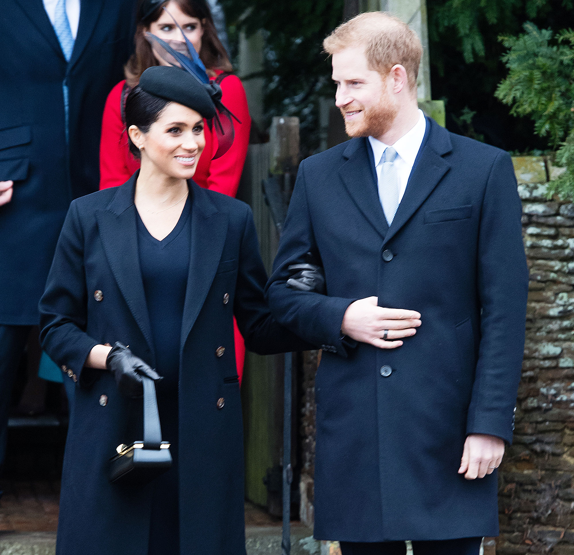 Prince Harry Doting On Duchess Meghan