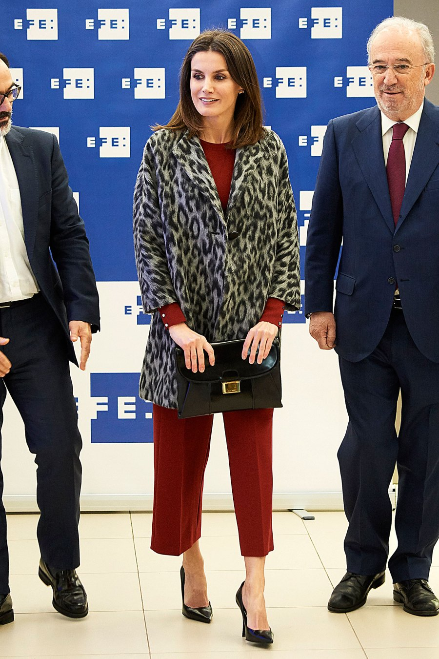 Queen Letizia Adds Leopard Print to the Looks She Can Pull Off Effortlessly