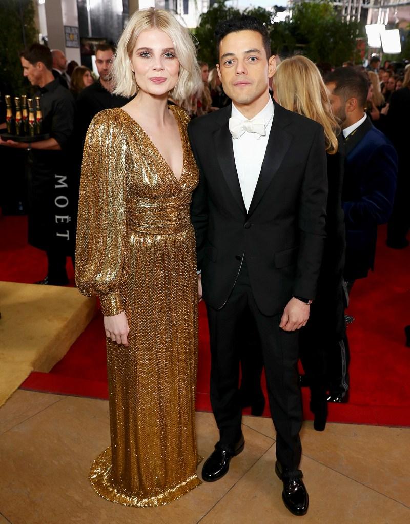 https://www.usmagazine.com/wp content/uploads/2019/01/Rami Malek and Lucy Boynton golden globes
