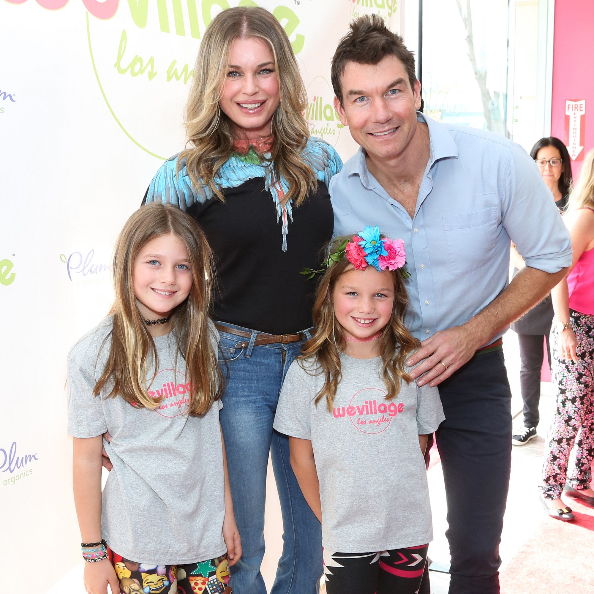 Rebecca Romijn Reveals the One Thing She Won't Let Her Kids Do - Dolly Rebecca Rose O'Connell, Rebecca Romijn, Charlie Tamara Tulip O'Connell and Jerry O'Connell.