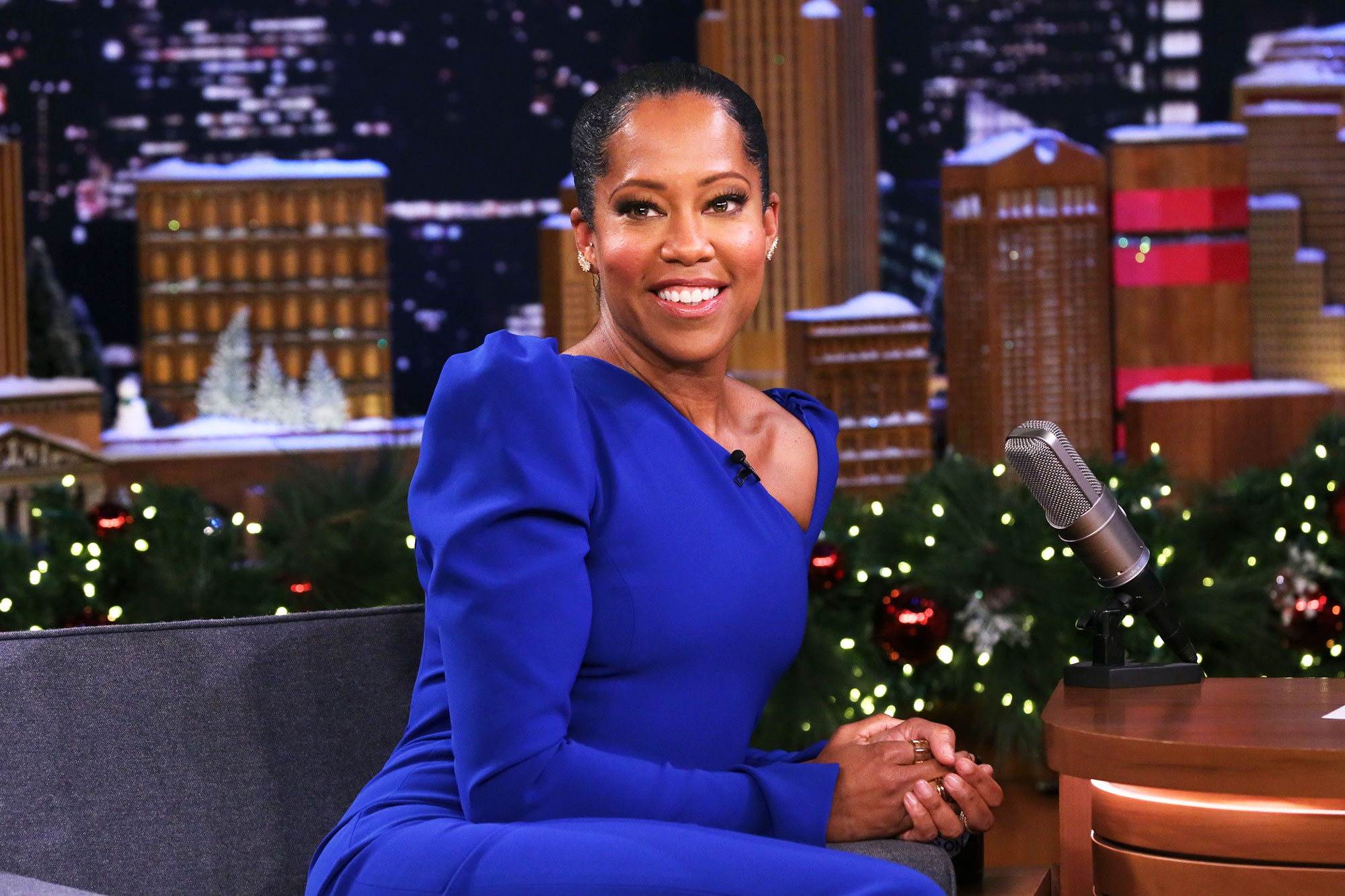 Golden Globe 2019 Movie Predictions: Who Should Win — And Who Will Win? - THE TONIGHT SHOW STARRING JIMMY FALLON — Episode 0981 — Pictured: Actress Regina King during an interview on December 13, 2018