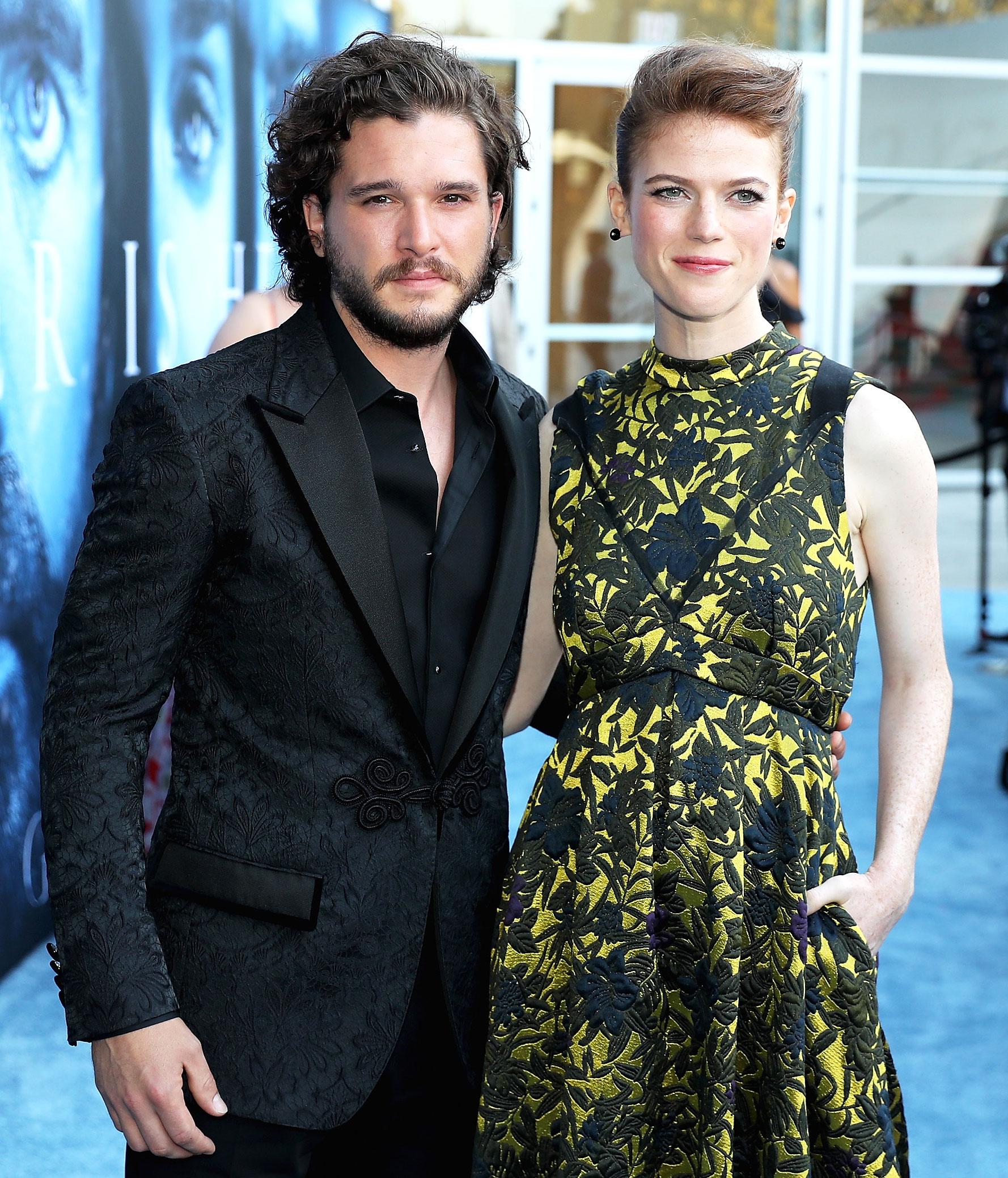 Rose Leslie Kit Harington Game of Thrones Last Season Break the Cast