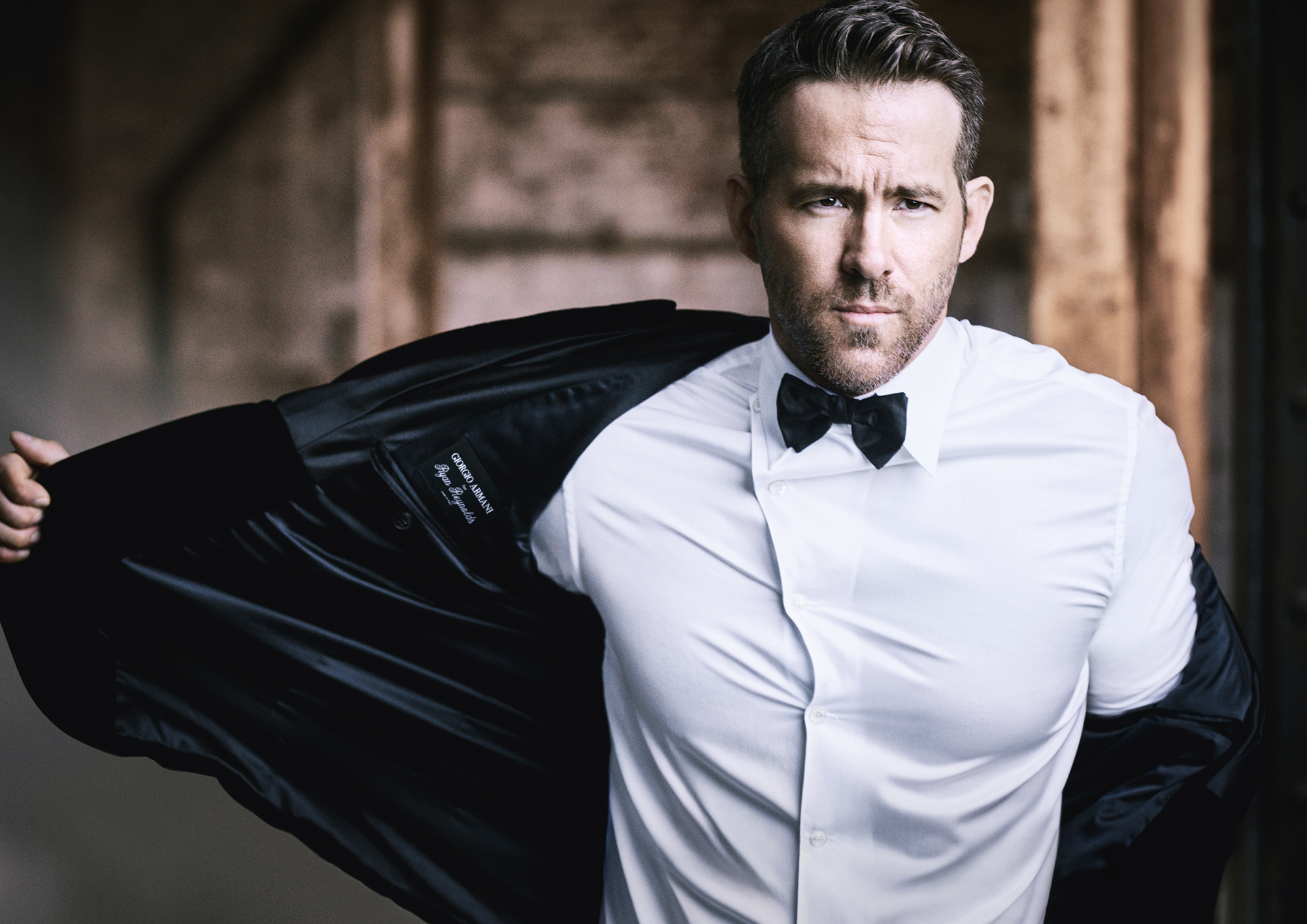 Ryan Reynolds face of Armani Code - Ryan Reynolds as the new face of Giorgio Armani's fragrance line.