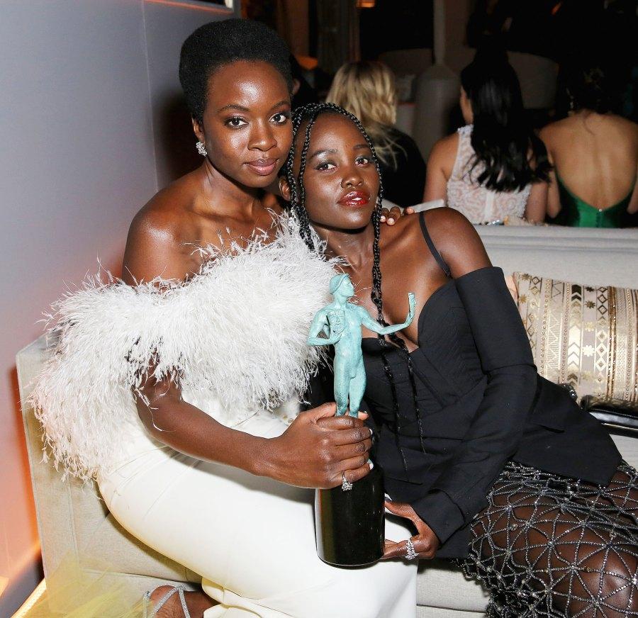 SAG Awards 2019 After Party Danai Gurira Lupita Nyongo