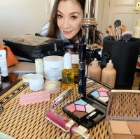 SAG Awards 2019 Stars Getting Ready Michelle Yeoh