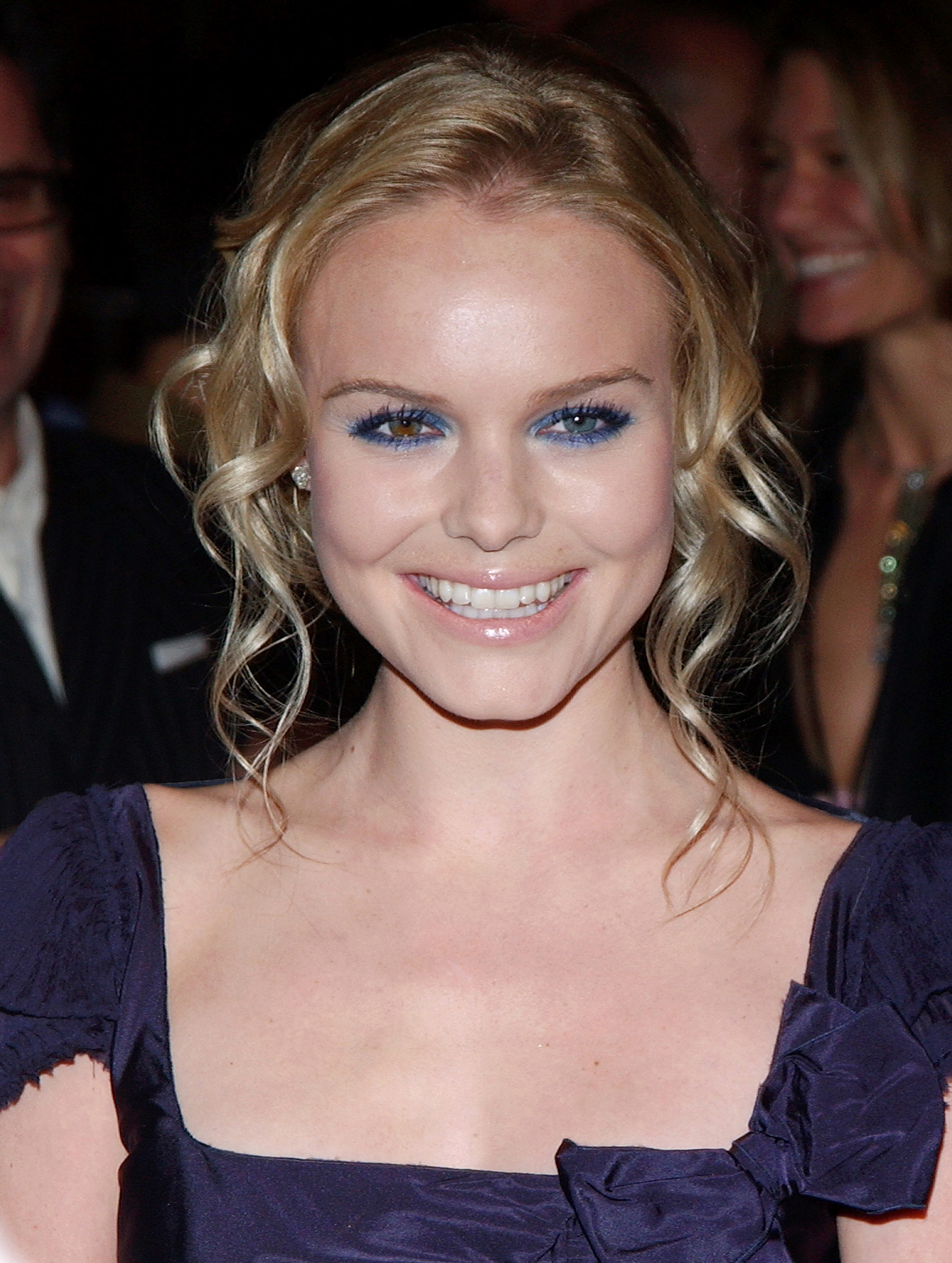 See Birthday Girl Kate Bosworth's Best Beauty Moments - Bosworth has heterochromia, a condition that results in two different eye colors, and her cobalt liner at the Beyond the Sea premiere in November 2004 perfectly complemented her blue and hazel peepers.