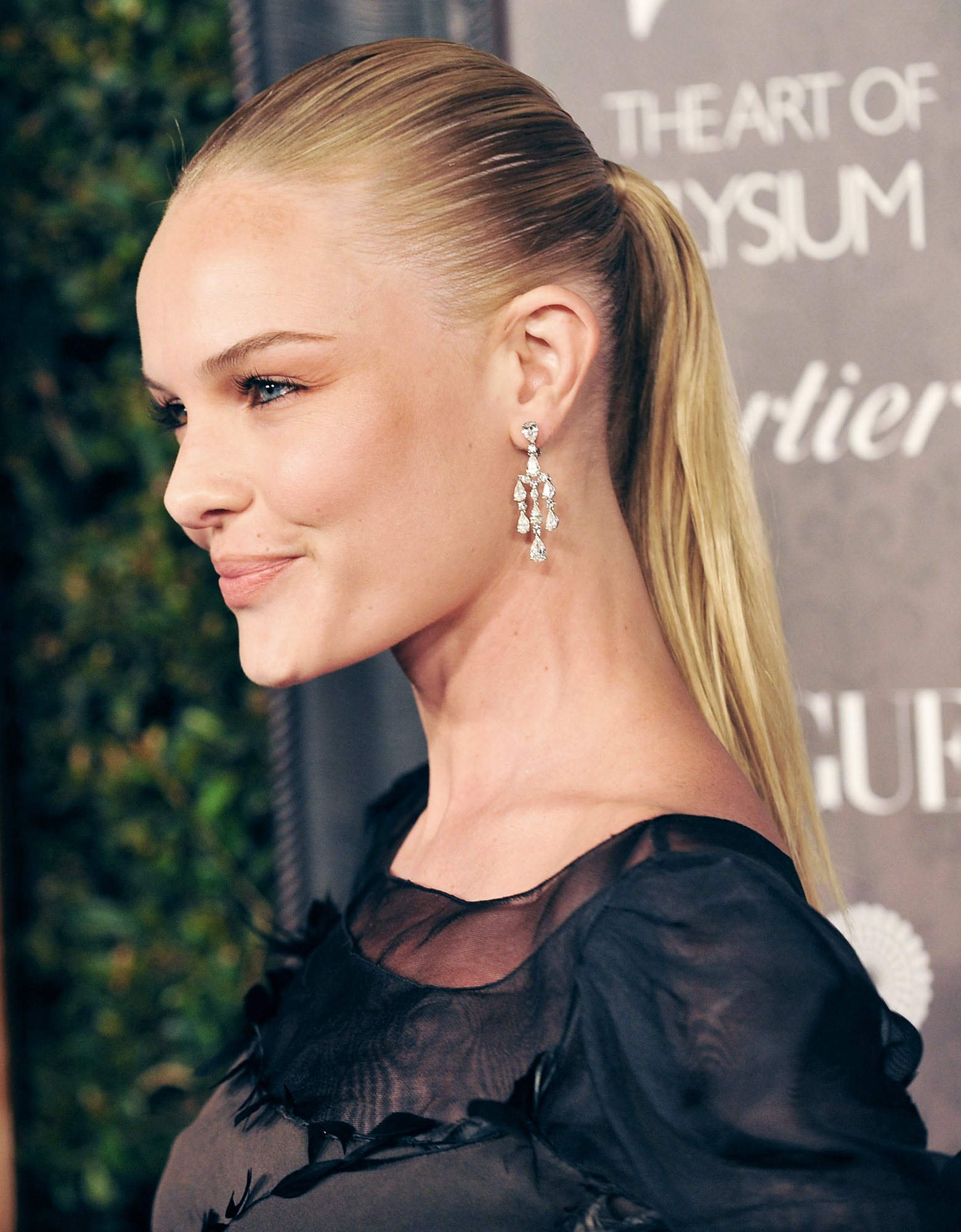See Birthday Girl Kate Bosworth's Best Beauty Moments - Bosworth rocked a super sleek pony at a 2009 charity gala, and we love that she kept she kept her makeup minimal for a marvelously modern effect.