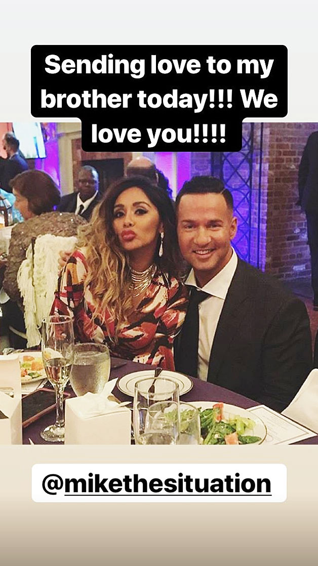 Snooki Supports Mike The Situation Sorrentino Prison Sentence