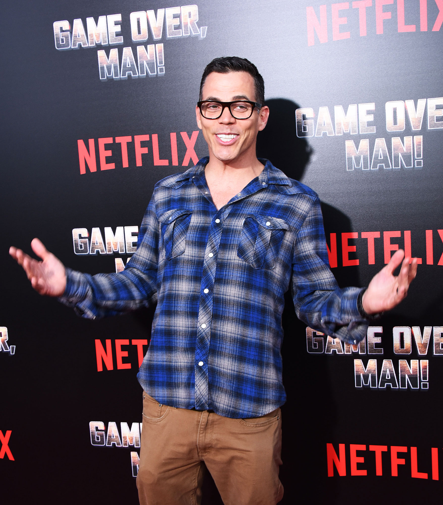 """Steve-O - The Jackass alum confessed that he once snorted cocaine that had been spattered with the blood of his HIV-positive drug dealer in an interview for In Depth With Graham Bensinger on January 16. """"This is how desperate and pathetic my addiction was,"""" he said."""