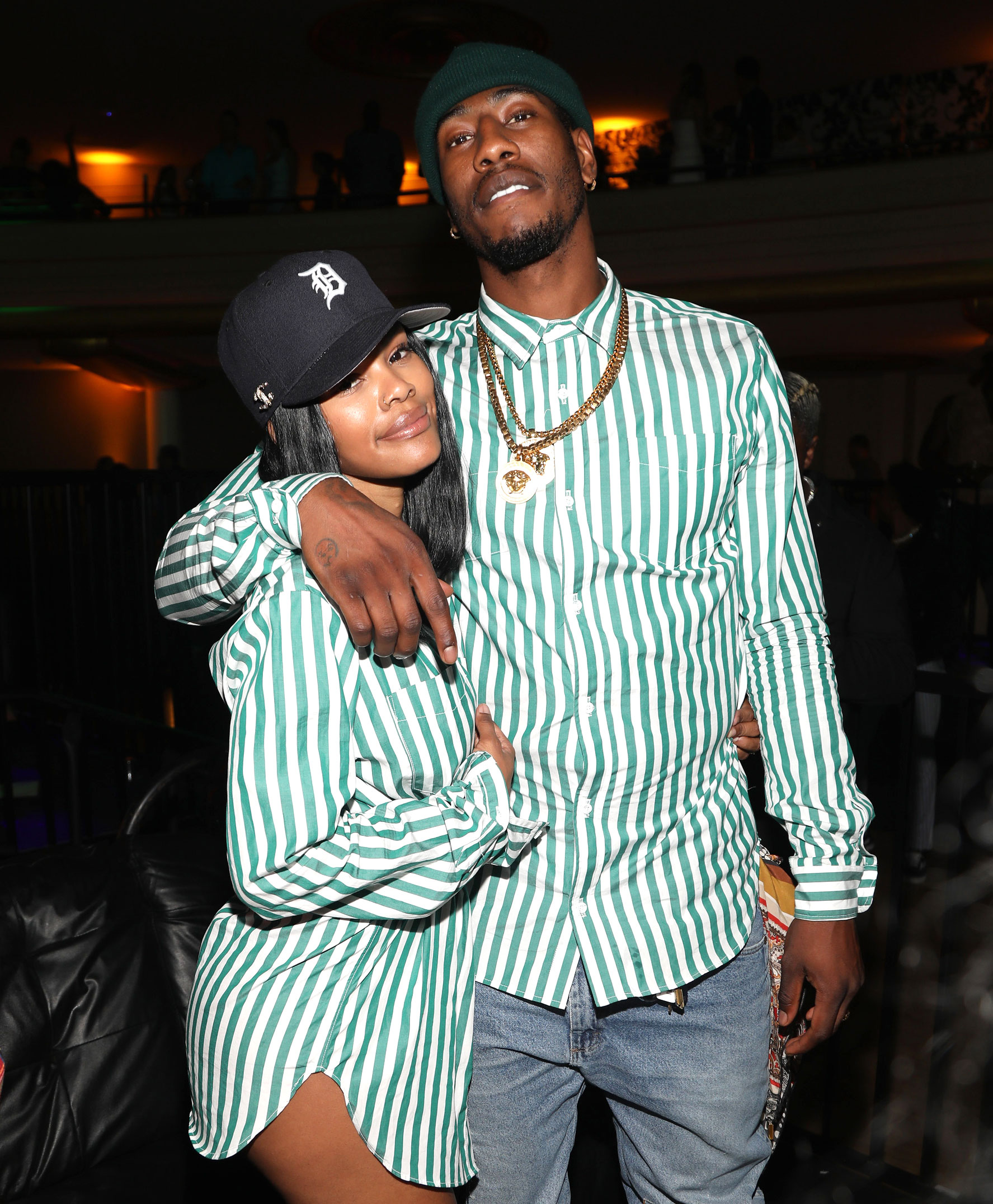 Teyana Taylor Denies Rumors Iman Shumpert Impregnated Another Woman - Teyana Taylor and Iman Shumpert attend The 2018 Maxim Hot 100 Party at Hollywood Palladium on July 21, 2018 in Los Angeles, California. (Photo by Jerritt Clark/Getty Images for MaximExperiences)