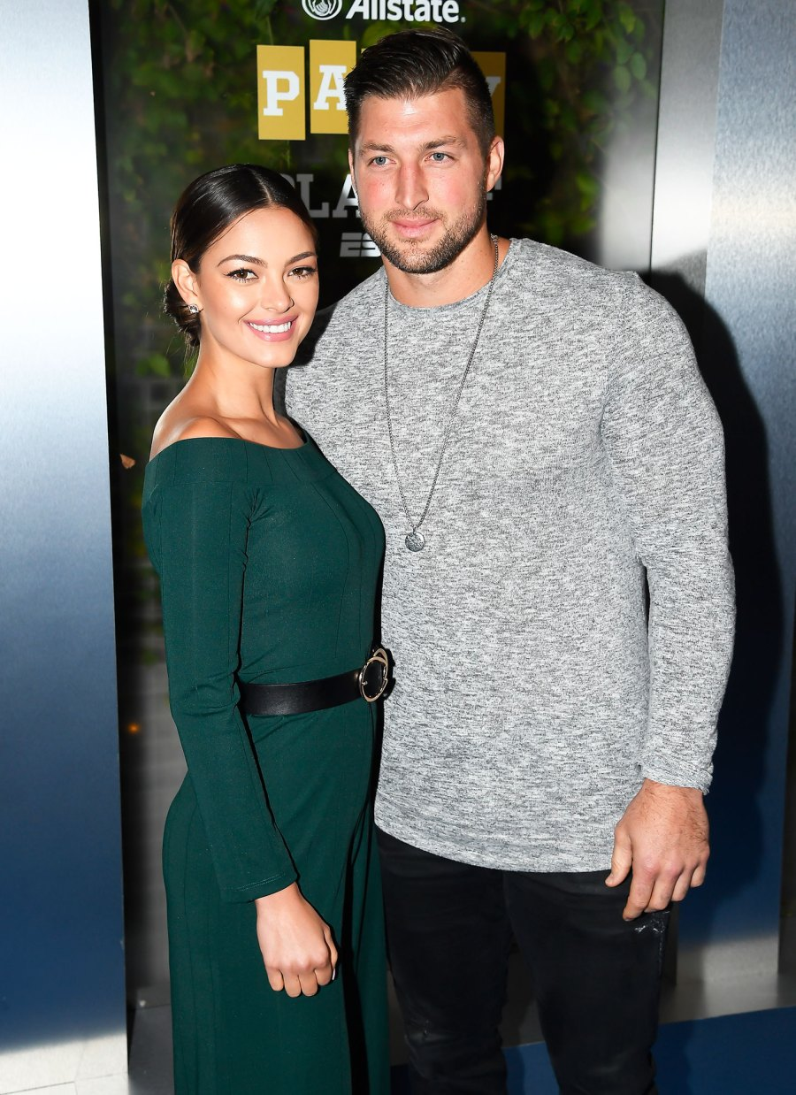 Tim Tebow and Demi-Leigh Nel Peters Celebrity Engagements of 2019